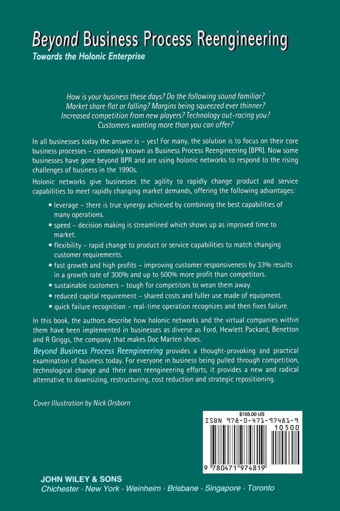 Beyond Business Process Reengineering als Buch (kartoniert)