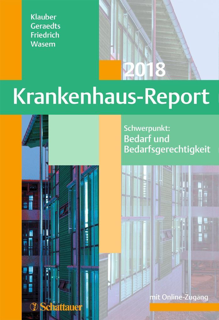 Krankenhaus-Report 2018 als eBook pdf