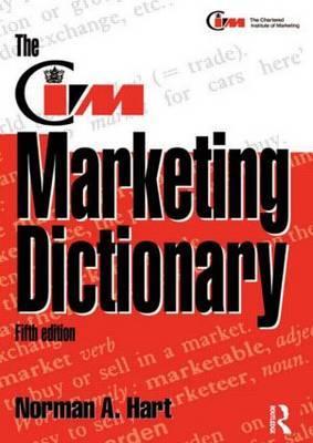 The CIM Marketing Dictionary als Buch (kartoniert)
