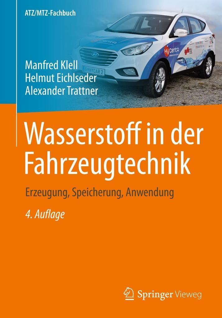 Wasserstoff in der Fahrzeugtechnik als eBook