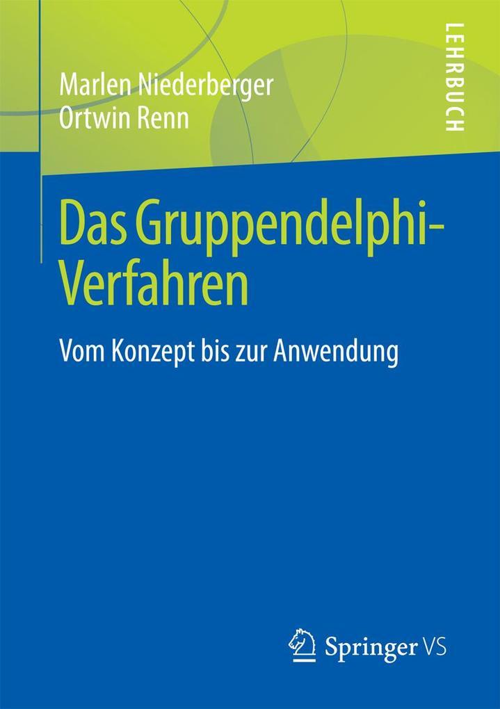 Das Gruppendelphi-Verfahren als eBook