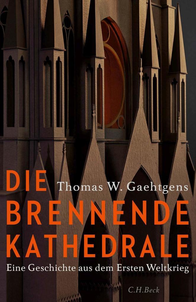 Die brennende Kathedrale als Buch