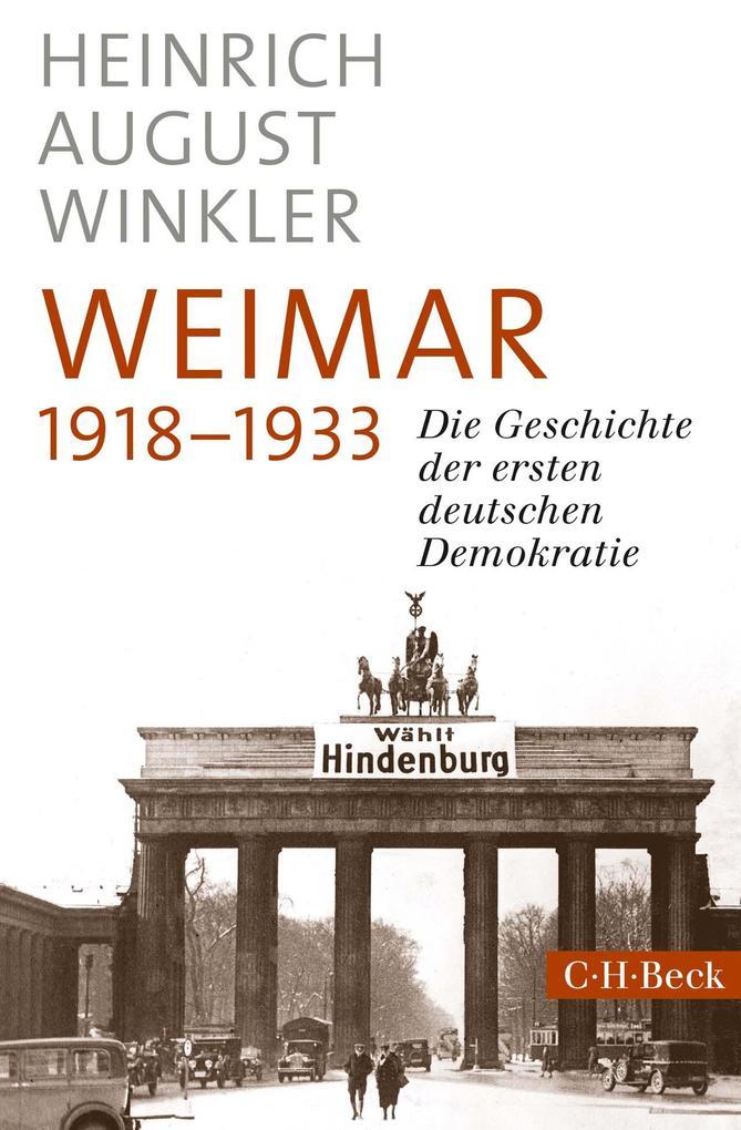 Weimar 1918-1933 als Buch