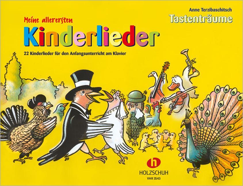 Meine allerersten Kinderlieder als Buch