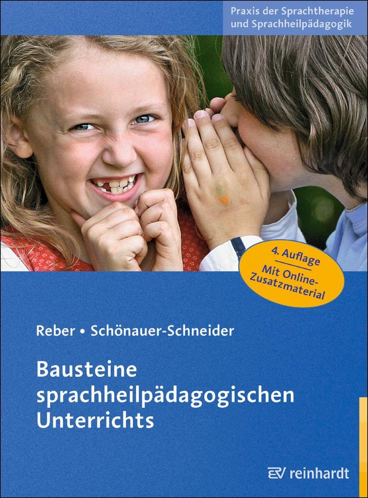 Bausteine sprachheilpädagogischen Unterrichts als eBook epub