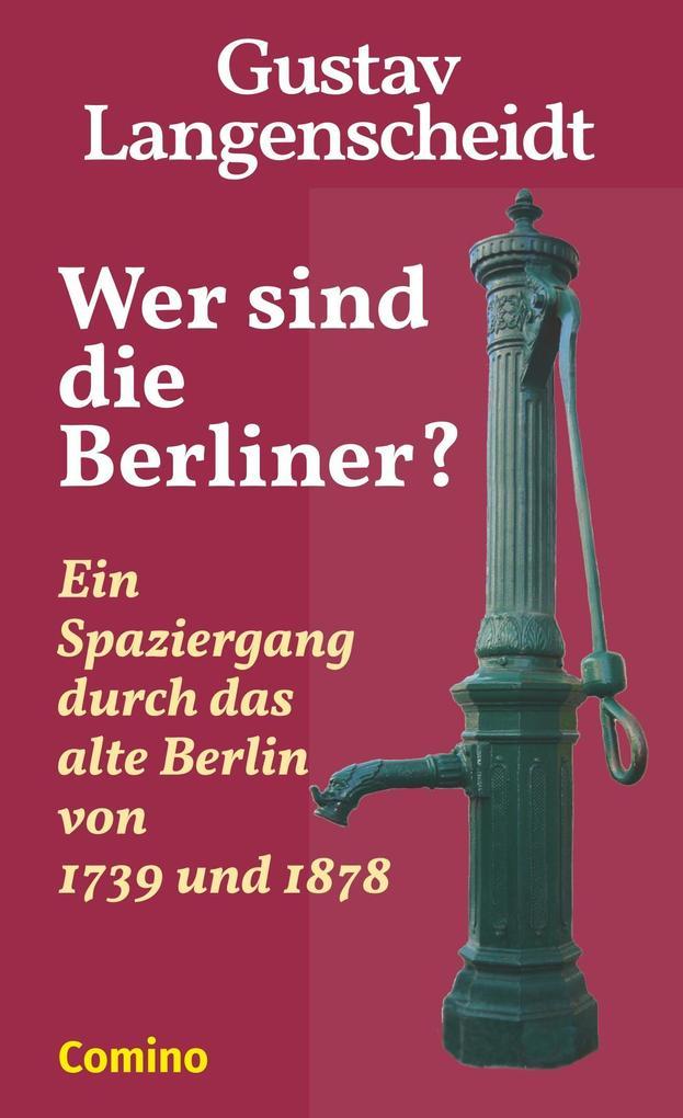Wer sind die Berliner? als Buch
