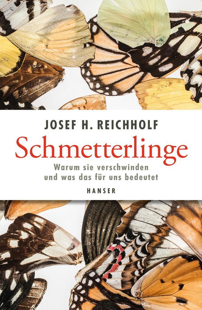 Schmetterlinge als Buch
