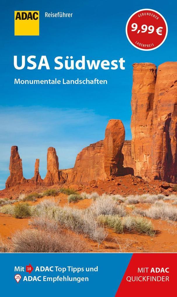 ADAC Reiseführer USA Südwest als Buch