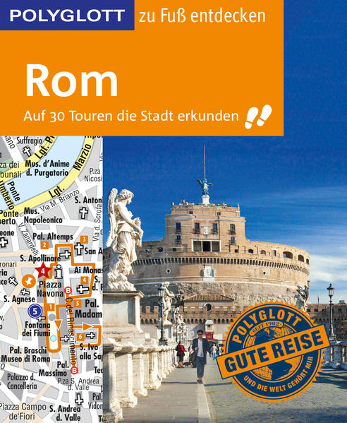 POLYGLOTT Reiseführer Rom zu Fuß entdecken als Buch