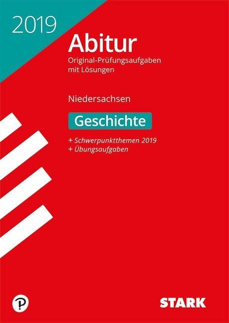 Abiturprüfung Niedersachsen 2019 - Geschichte gA/eA als Buch