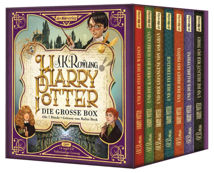 Harry Potter. Die große Box zum Jubiläum. Alle 7 Bände. als Hörbuch