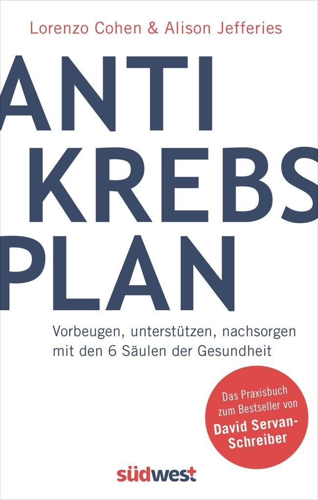 Der Antikrebs-Plan als Buch