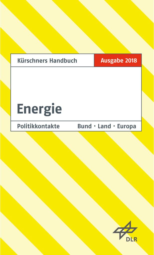 Kürschners Handbuch Energie als eBook