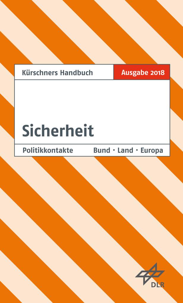 Kürschners Handbuch Sicherheit als eBook