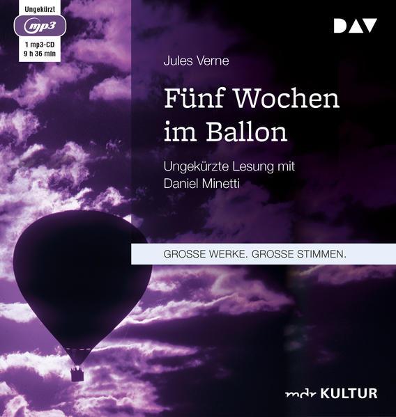 Fünf Wochen im Ballon als Hörbuch