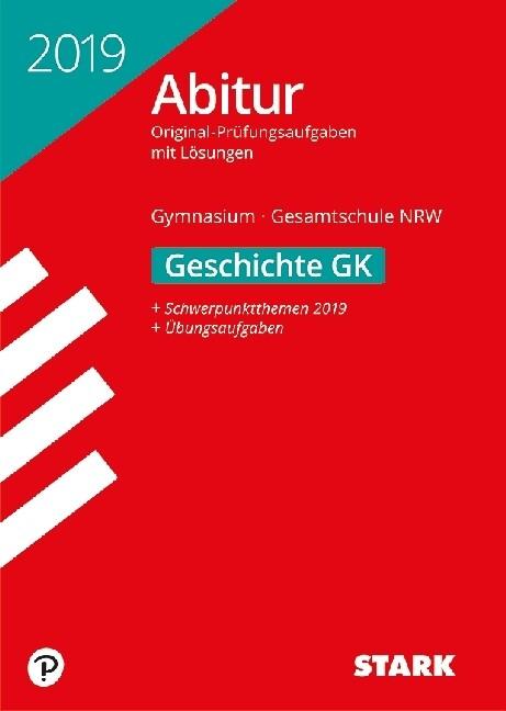 Abiturprüfung NRW - Geschichte GK als Buch