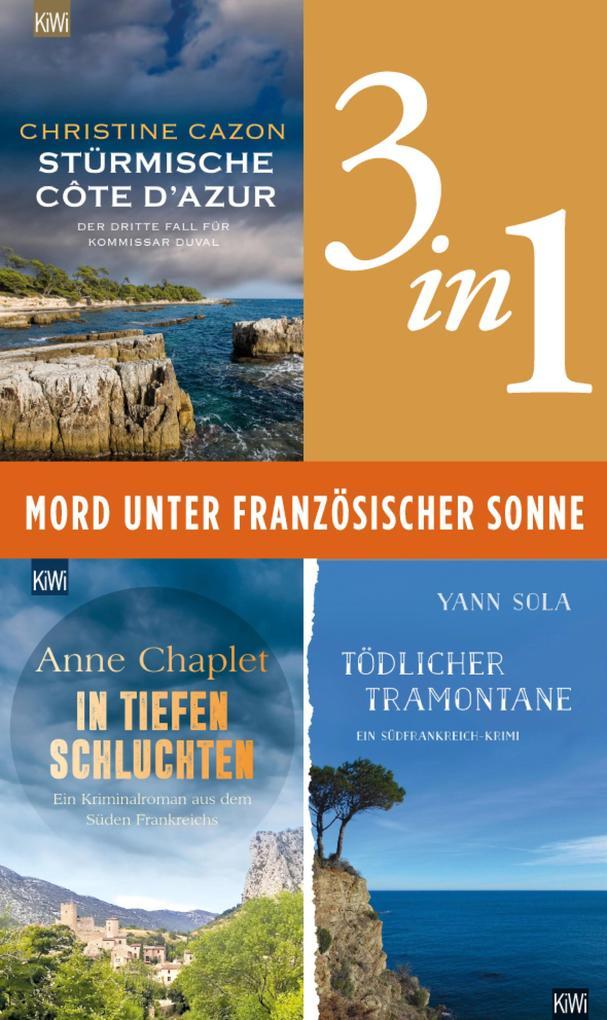 Mord unter französischer Sonne (3in1-Bundle) als eBook