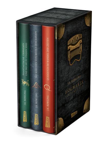 Die Hogwarts-Schulbücher im Schuber als Buch