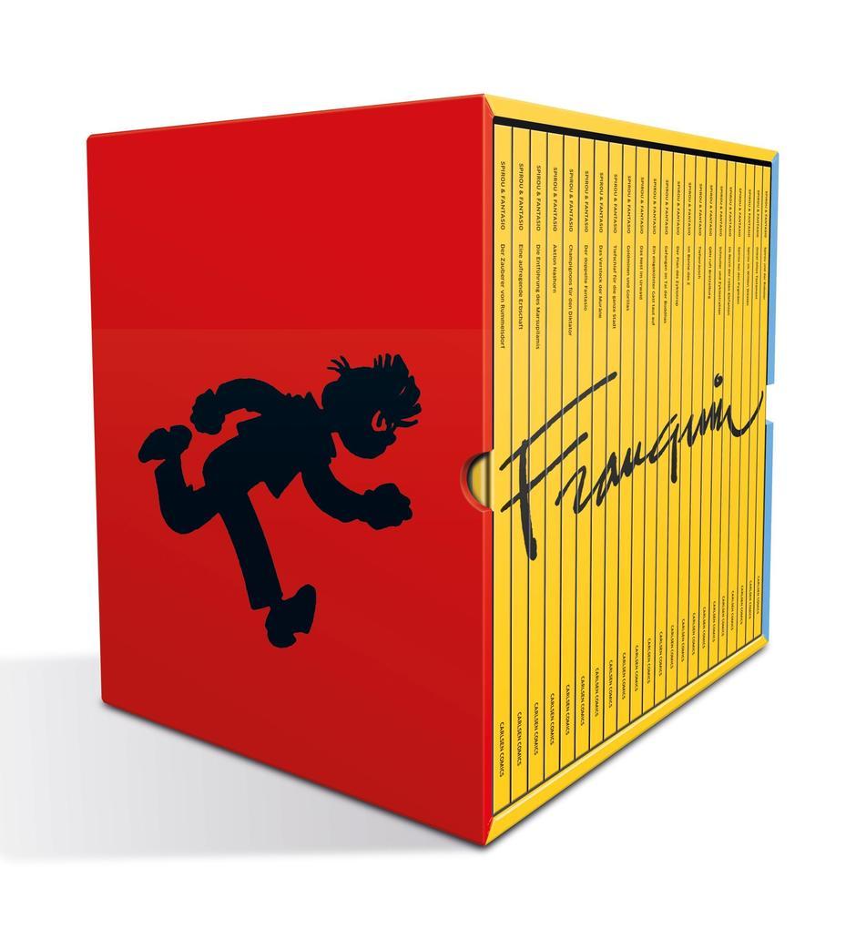 Spirou und Fantasio / Franquin-Schuber