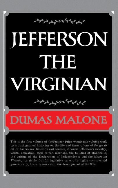 Jefferson the Virginian - Volume I als Buch