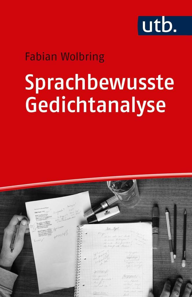 Sprachbewusste Gedichtanalyse als Taschenbuch