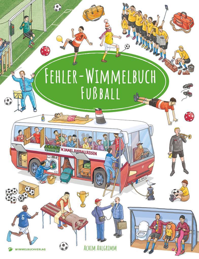Fehler-Wimmelbuch-Fußball als Buch
