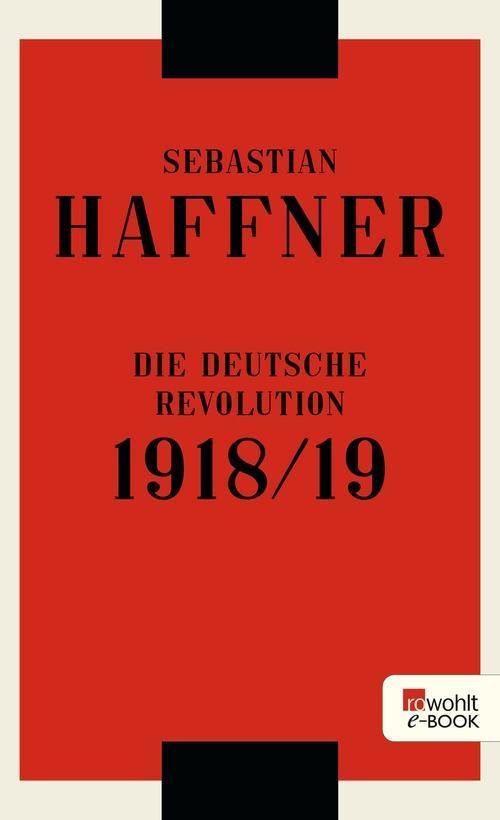 Die deutsche Revolution 1918/19 als eBook epub