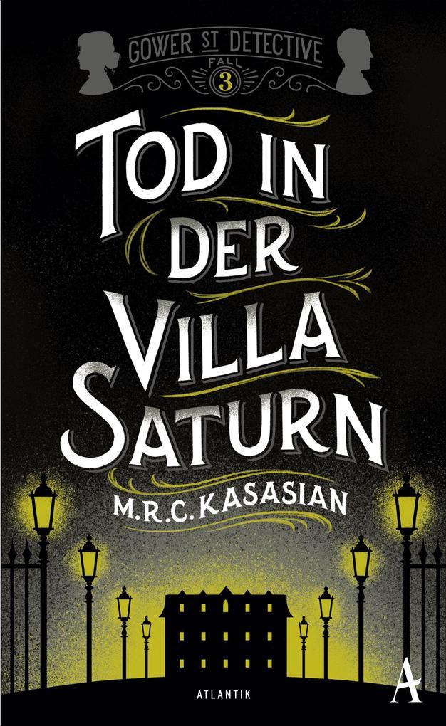 Tod in der Villa Saturn als Buch