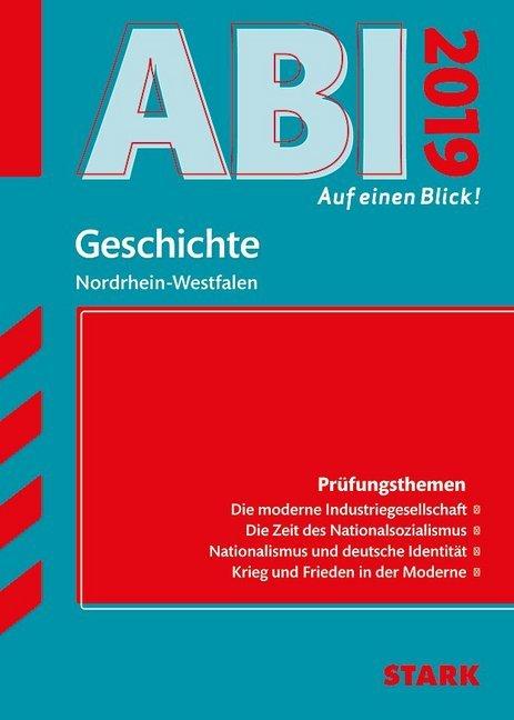 Abi - auf einen Blick! Geschichte Nordrhein-Westfalen 2019 als Buch