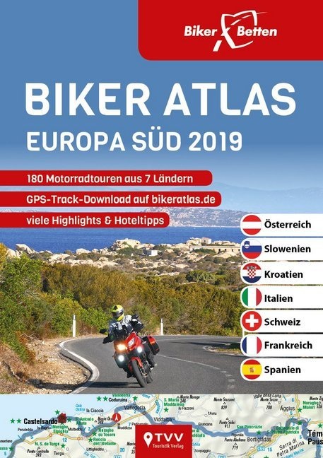Biker Atlas EUROPA 2019 als Buch