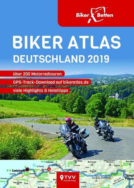 Biker Atlas DEUTSCHLAND 2019 als Buch