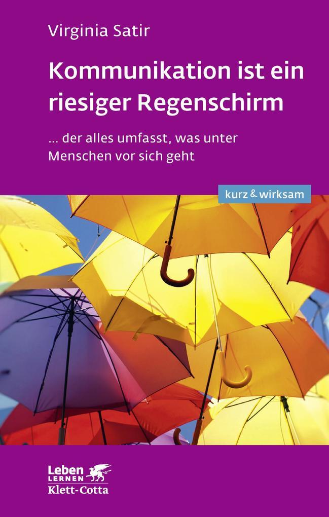 Kommunikation ist ein riesiger Regenschirm als eBook epub