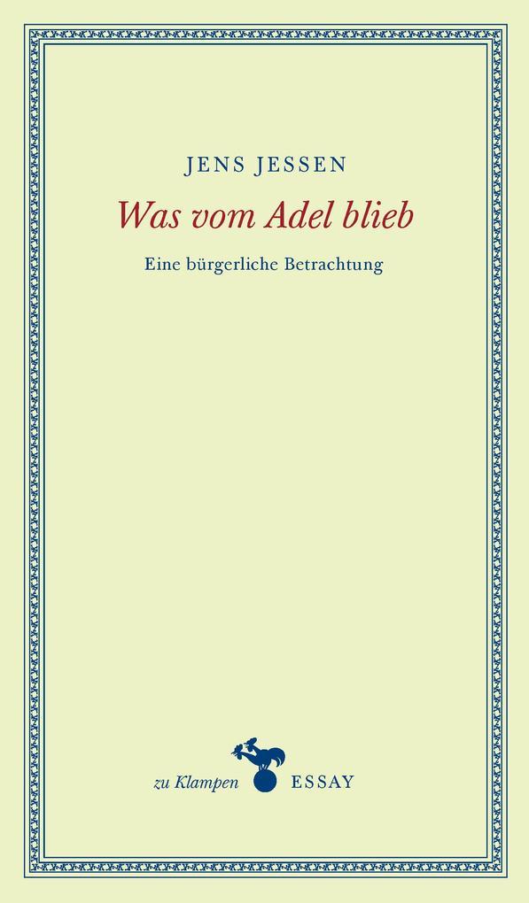 Was vom Adel blieb als Buch