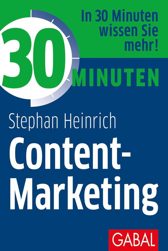 30 Minuten Content-Marketing als eBook