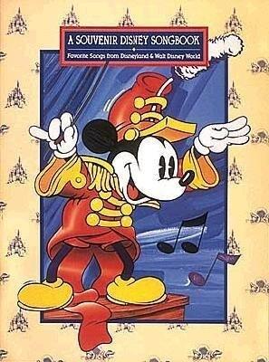 A Souvenir Disney Songbook: Favorite Songs from Disneyland & Walt Disney World als Taschenbuch
