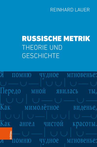 Russische Metrik als Buch