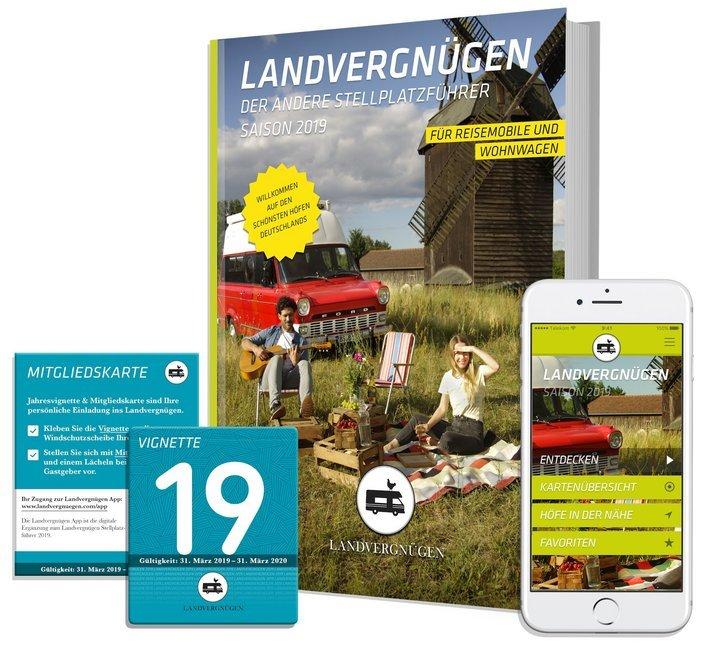 Landvergnügen 2019 als Buch