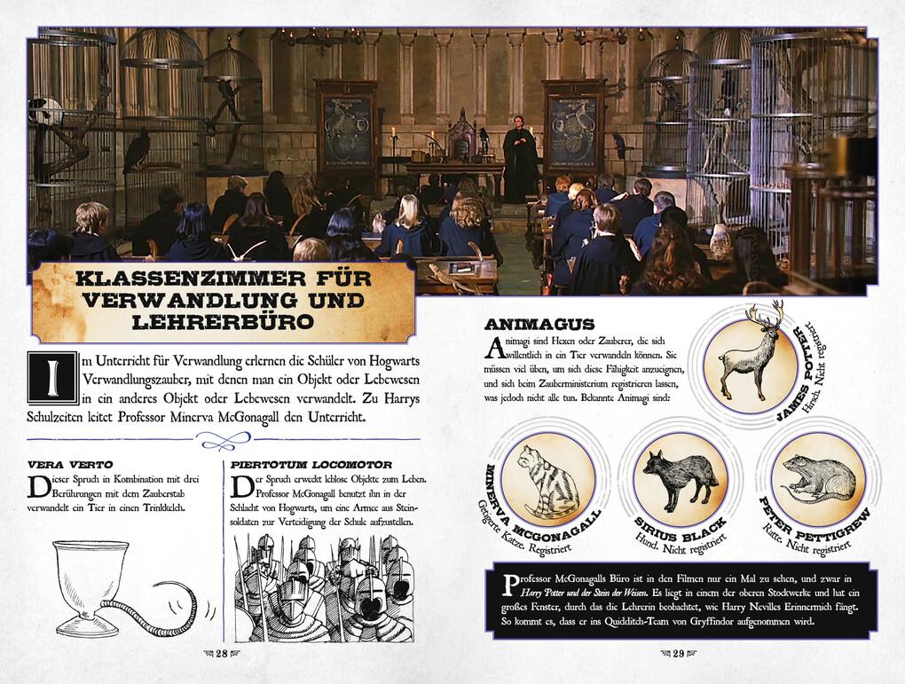 Karte Des Rumtreibers.Aus Den Filmen Zu Harry Potter Die Karte Des Rumtreibers Eine Reise Durch Hogwarts