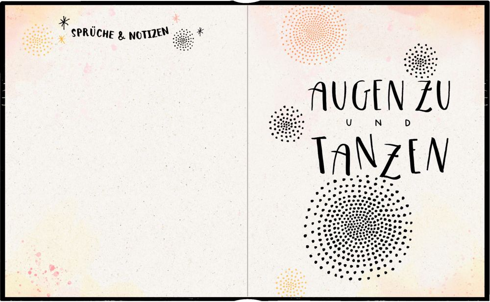 Freundebuch - Handlettering - Meine Freunde (Buch)