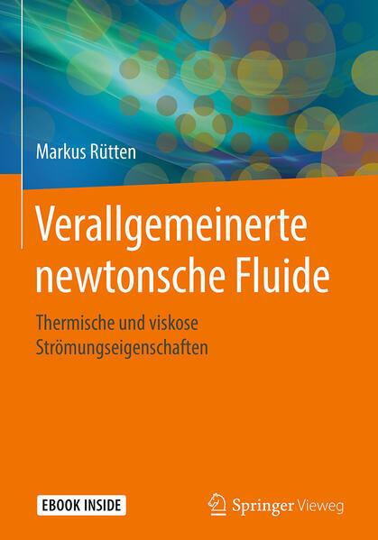 Verallgemeinerte newtonsche Fluide als Buch