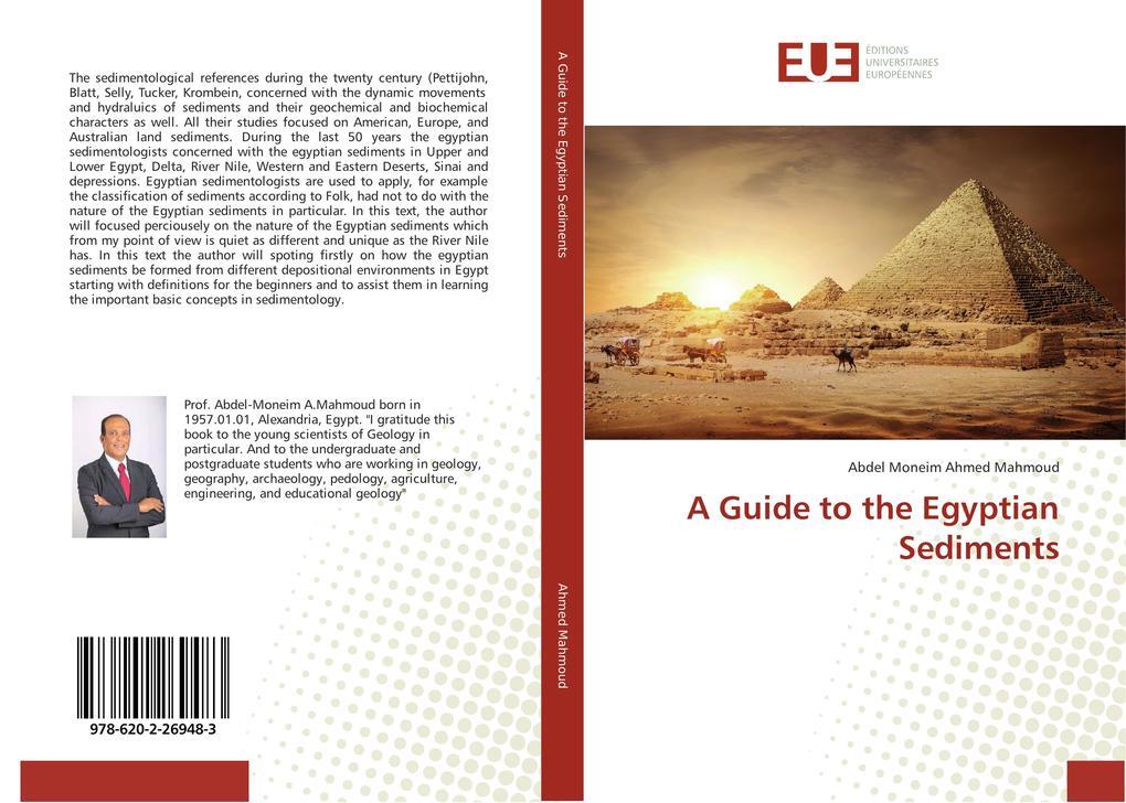 A Guide to the Egyptian Sediments als Buch von Abdel Moneim Ahmed Mahmoud