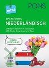 PONS Mini-Sprachkurs Niederländisch