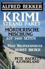 Krimi Strand-Paket: Mörderische Mischung auf 1400 Seiten