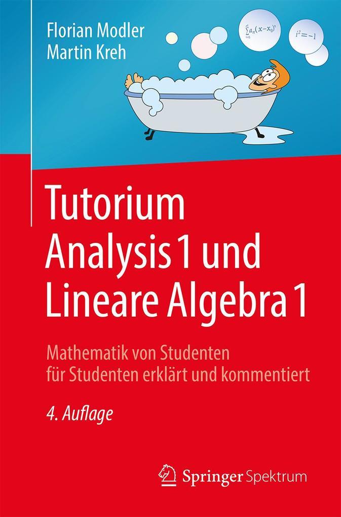 Tutorium Analysis 1 und Lineare Algebra 1 als Buch (gebunden)