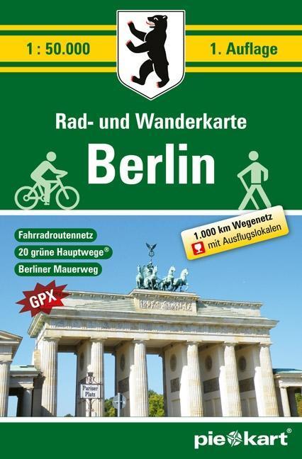 Berlin 1 : 50.000 Rad- und Wanderkarte als Buch