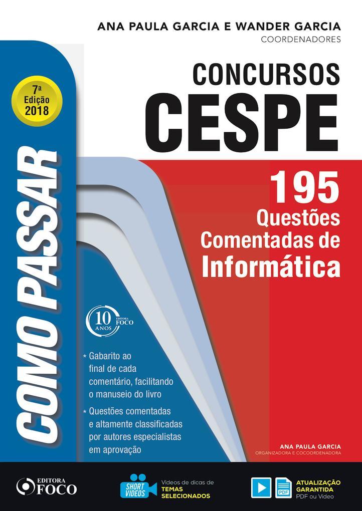 Como passar em concursos CESPE: informática