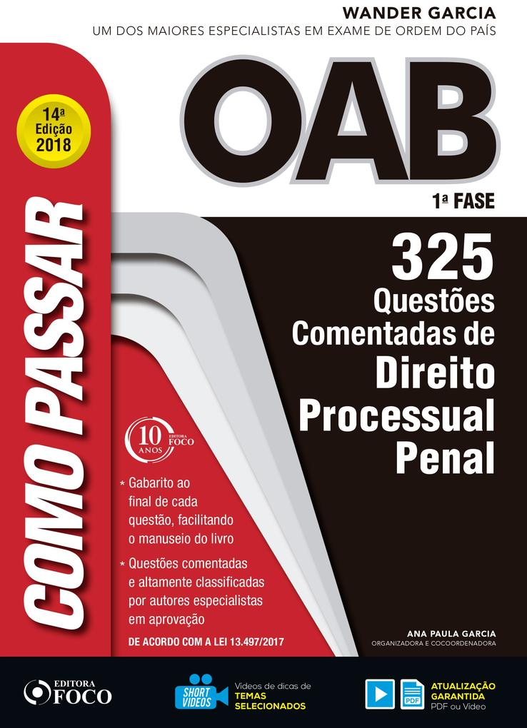Como passar na OAB 1ª Fase: direito processual penal