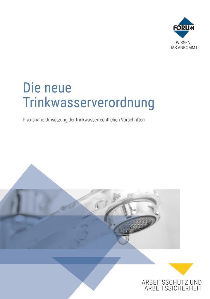 Die neue Trinkwasserverordnung als eBook