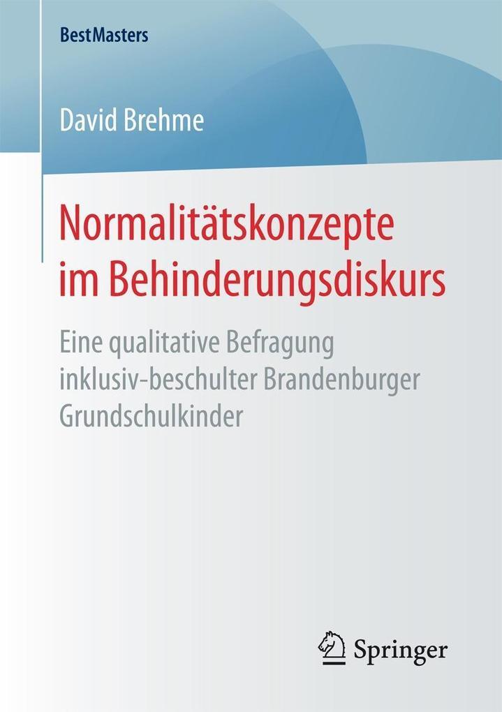 Normalitätskonzepte im Behinderungsdiskurs als eBook