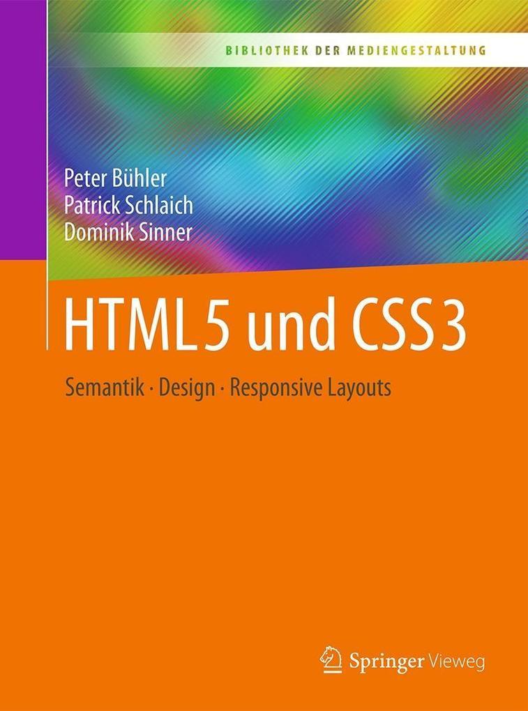 HTML5 und CSS3 als eBook